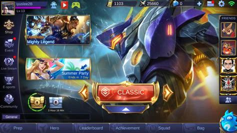 discord untuk mobile legend 6 hero pilihan di mobile legends di tiap role apa saja