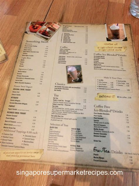 Ordering Coffee And Tea In Singapore by The Coffee Bean Tea Leaf Bistro At Mbs