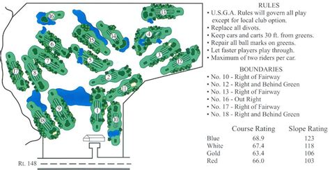 layout view events pine lakes golf course score card layout