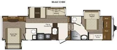 2 bedroom rvs for sale rooms fifth wheel bunkhouse models floor plans wheel home plans
