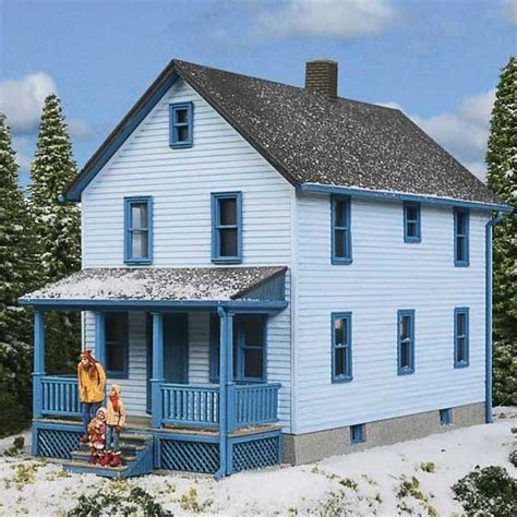 a frame house kit walthers cornerstone ho scale 2 story frame house kit