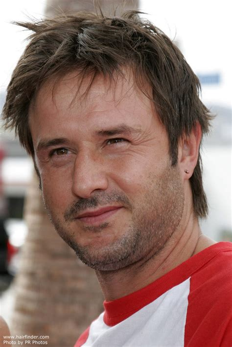 Whats Up With David Arquettes Hair by David Arquette Sporting A S Razor Cut Hairstyle