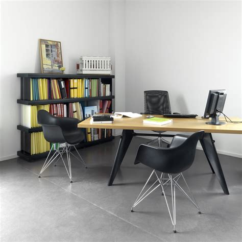 Oak Dining Room Table eames plastic armchair dar by vitra