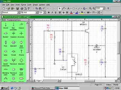 microsoft visio 2000 leading edge 2d cad cadinfo net
