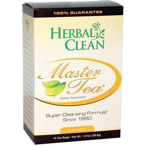 Herbs Detox Tea by Herbal Clean Master Tea Cleansing Formula Lemon