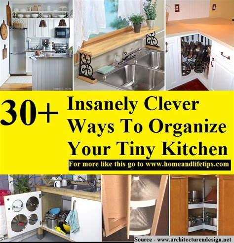 30 clever ideas to organize your kitchen girl in the garage 174 30 insanely clever ways to organize your tiny kitchen