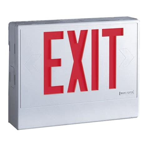 cooper lighting exit signs cooper lighting lpxh7 sure lites lpx series led exit sign