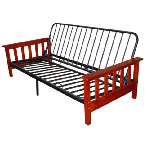 How To Put Together A Futon Wooden Frame by Futon Frame Materials Futon Information