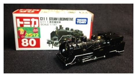 Tomica 80 Steam Locomotive tomica 2012年5月份的第二台新車是許久未在紅盒號車1 120號裡現身的火車頭