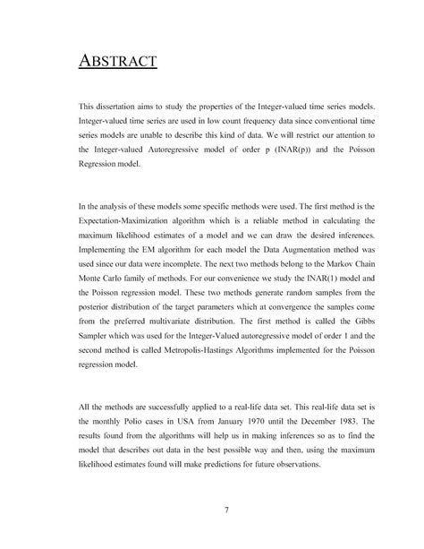 a dissertation order algebra dissertation abstract