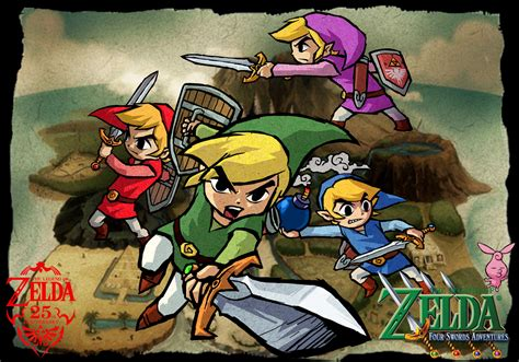 Loz Wars 02 by The Legend Of Four Swords Adventures Gc By Legend