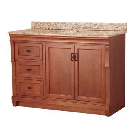 Foremost Naples 49 In W X 22 In D Vanity In Warm Foremost Naples Medicine Cabinet