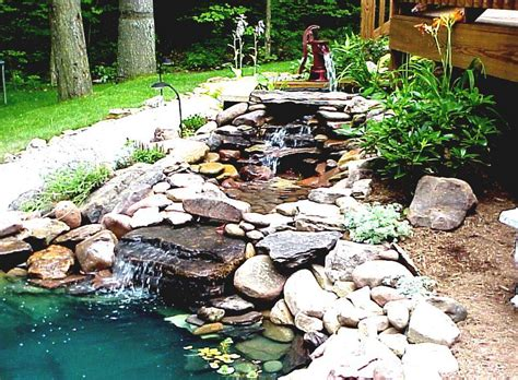 homemade backyard ponds diy garden pond design gardening flowers 101 gardening