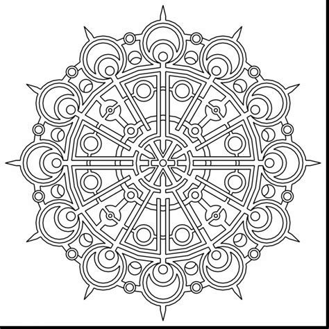 free geometric coloring pages pdf unbelievable geometric mandala coloring pages with