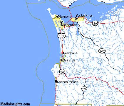 gearhart oregon map gearhart vacation rentals hotels weather map and