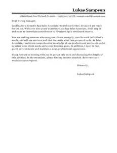 leading professional sales associate cover letter exles