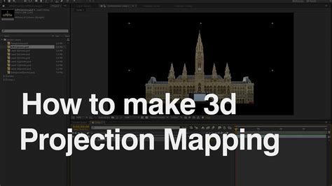 tutorial video mapping how to make 3d video mapping projection video mapping