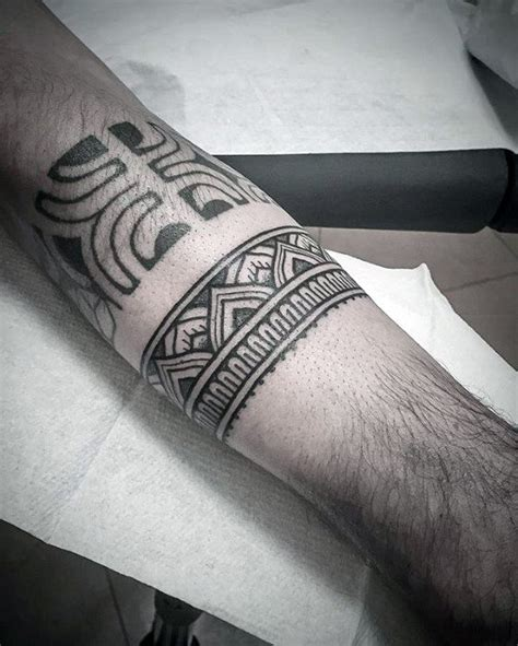 tattoo band designs for men 50 forearm band tattoos for masculine design ideas