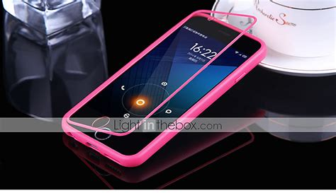 Big Silicon Tpu For Iphone 6 Plus Tpu12 big d touch view tpu silicone flip cover for iphone 6s