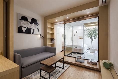 Tiny Appartment by Tiny Apartment Designed For Two 51 Cats In