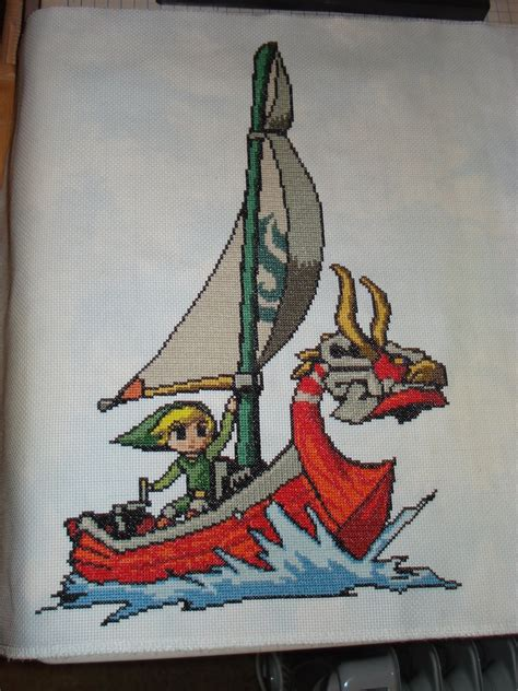 wind waker zelda pattern legend of zelda wind waker by oziphantom on deviantart