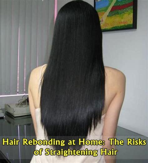 hair rebonding at home hair rebonding at home the risks of straightening hair