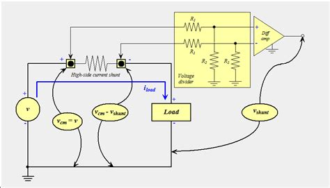 shunt resistor high current resistors why shunt resistance has 3 line electrical engineering stack exchange