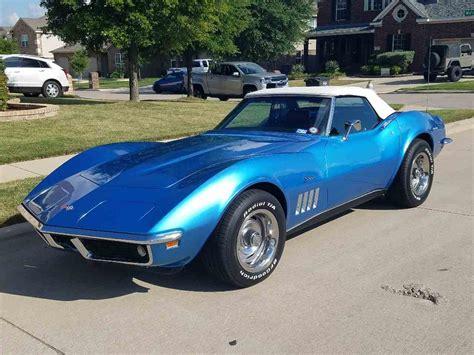 classic cars corvette 1969 chevrolet corvette for sale classiccars cc