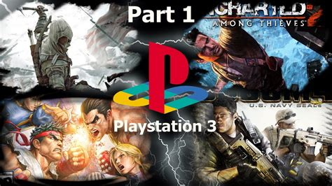 best ps3 games top ps3 games part 1 over 700 games youtube