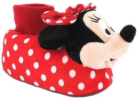 minnie mouse shoe slippers slippers at wynsors