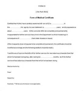 Medical Certification Letter Medical Certificate Template 20 Free Word Pdf Documents Download Free Amp Premium Templates