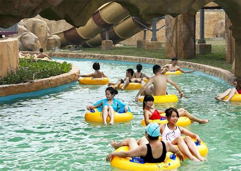 How To Make A Lazy River In Your Backyard by Outdoor Water Park Swimming Pool Lazy River With Wave
