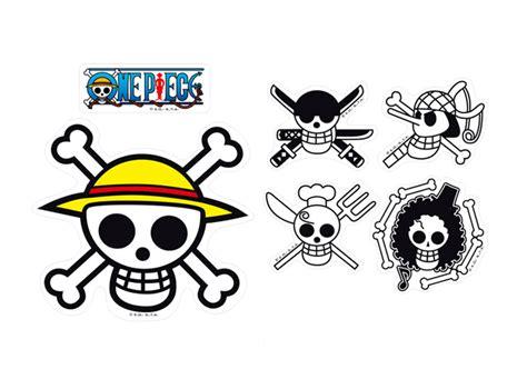 jolly roger logo stickers one piece otakustore gr
