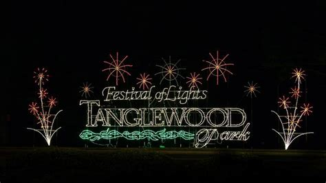 Tanglewood Park Festival Greensboro Festival Of Lights Tanglewood Lights Nc