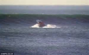 speed boat crash long beach dramatic moment a 163 600k powerboat is flung 40ft into the
