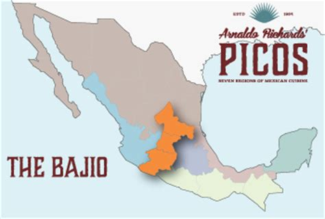 regional map of mexico the seven regions of mexican cuisine