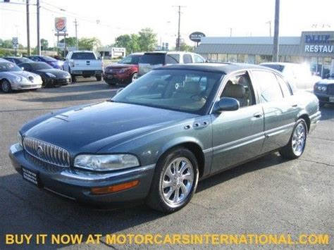 buick park avenue seats purchase used 2004 buick park avenue navigation heated