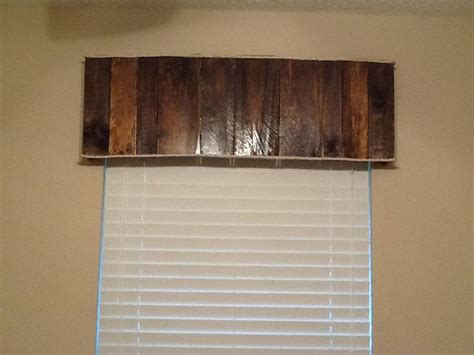 Wood Valance Ideas 17 best images about wood valance on rustic wood window treatments and how to hang