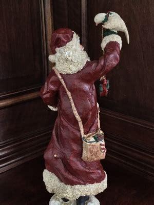 "Santa with Dove, ""Peace on Earth"""