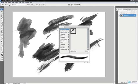 custom pattern brush photoshop photoshop tutorial how to create a photoshop brush