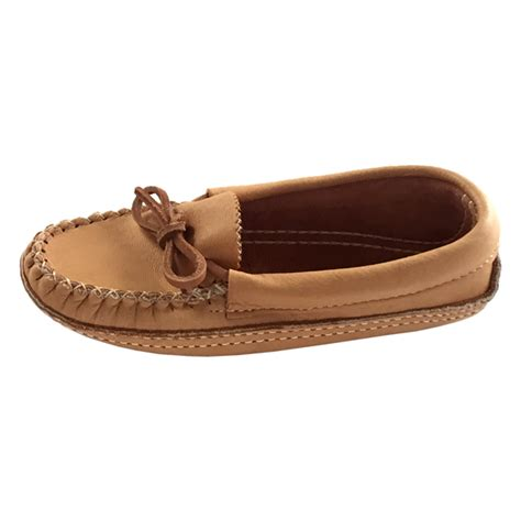 Handmade Moccasins Canada - s genuine moosehide leather authentic moccasins