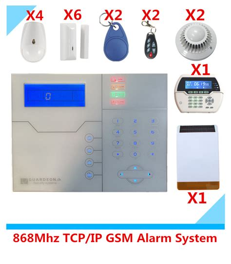 2017 advanced tcp ip burglar gsm alarm system security