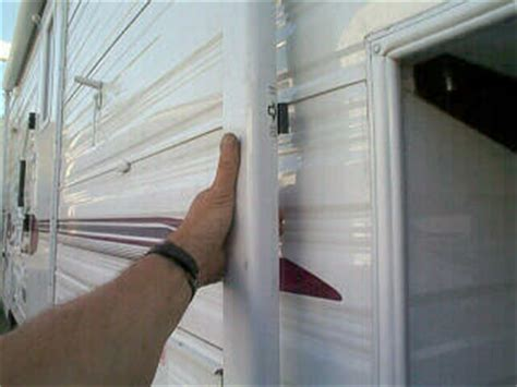 How To Open Trailer Awning by Rv Awning Opening
