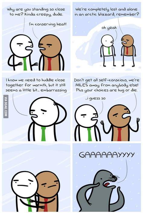 Homophobic Meme - the first homophobic seal meme comic 9gag
