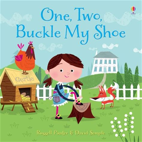 libro one two buckle my one two buckle my shoe at usborne children s books