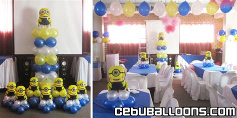 City Minion Decorations by Minions Despicable Me Cebu Balloons And Supplies