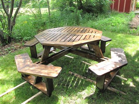 Octagon Patio Table Plans Build Octagonal Picnic Table Plans Diy Pdf King Platform Bed Woodworking Plans Brash30ycu