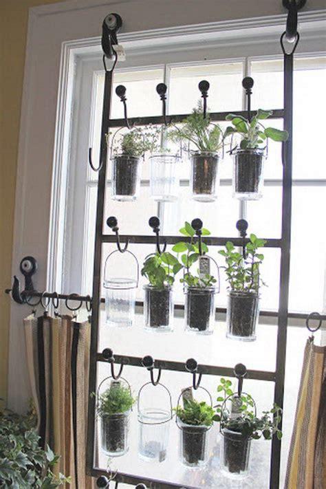 Indoor Garden Ideas by Indoor Garden From Hooks And Rods Http Hative Cool