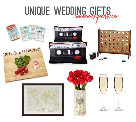 unique gifts unique wedding gift ideas with uncommongoods rachel nicole