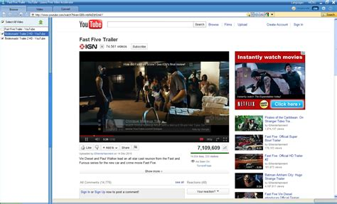 download youtube film download fast five movie online for unlimited movie enjoyment